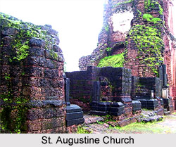 Ruins of the Church of St. Augustine, Goa