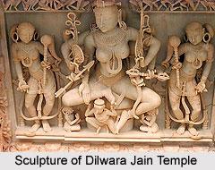 Sculpture of Dilwara Jain Temple