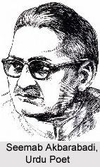 Seemab Akbarabadi, Urdu Poet