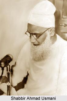 Shabbir Ahmad Usmani, Indian Politician