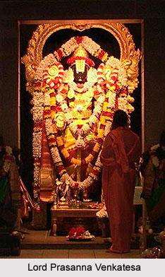 Sri Prasanna Venkatesa Perumal Temple, Tirupparkadal, South India