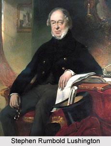 Stephen Rumbold Lushington, Governor of Madras Presidency