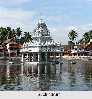 Suchindrum temple Kanniyakumari, Tamil Nadu