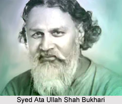 Syed Ata Ullah Shah Bukhari, Indian Politician
