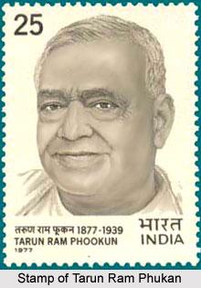 Tarun Ram Phukan, Indian Freedom Fighter