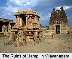 The Ruins of Hampi in Vijayanagara