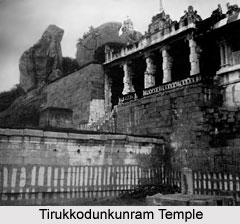 Tirukkodunkunram Temple, Piranmalai near Tirupattur, Chaturvedimangalam, Tamil Nadu