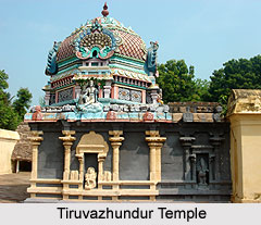 Tiruvazhundur Temple, Terazhundur near Mayiladuturai, Kutralam, Tamil Nadu