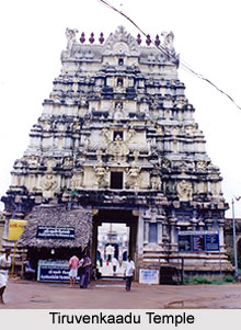 Tiruvenkaadu Temple, near Mayiladuturai, Poompuhaar, Tamil Nadu