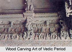 Wood Carving Art of Vedic Period