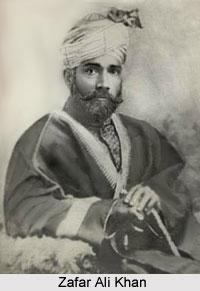 Zafar Ali Khan, Indian Politician