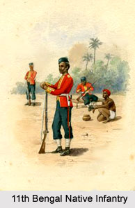 11th Bengal Native Infantry, Bengal Army