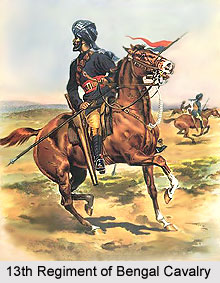 13th Regiment of Bengal Cavalry, Bengal Army