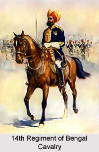 14th Regiment of Bengal Cavalry, Bengal Army