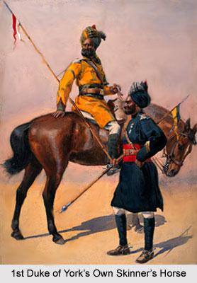 1st Duke of York's Own Skinner's Horse, Bengal Army