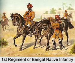 1st Regiment of Bengal Native Infantry