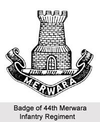 44th Merwara Infantry, Bengal Army