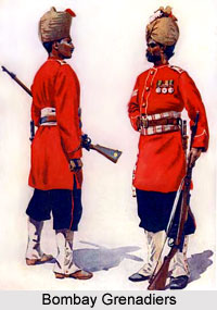 4th Bombay Grenadiers, Bombay Army