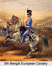 5th Bengal European Cavalry, Bengal Army
