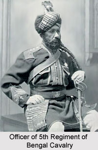 5th Regiment of Bengal Cavalry, Bengal Army