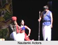 Actors in Nautanki