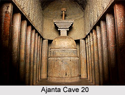 Ajanta Cave 20