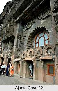 Ajanta Cave 22