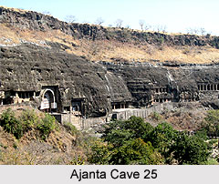 Ajanta Cave 25