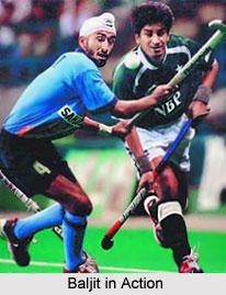 Baljit Singh Saini, Indian Hockey Player