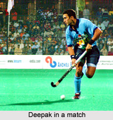 Deepak Thakur at the Hyderabad Afro-Asian Games