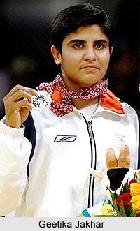 Geetika Jakhar, Indian Wrestler