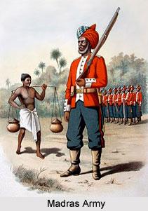 History of Madras Army