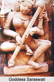 Iconography of Goddess Saraswati, Khajuraho