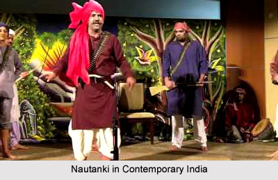Nautanki in Contemporary India