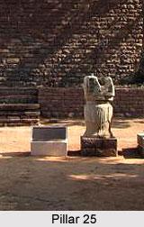 Pillar 25 at Sanchi