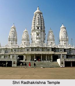J.K. Temple, Shri Radhakrishna Temple, Kanpur