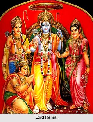 Shrine of Lord Rama,Sri Kondandaramasvami Temple, Nandambakkam, South India