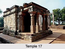 Temple 17 at Sanchi