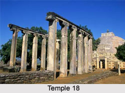 Temple 18 at Sanchi