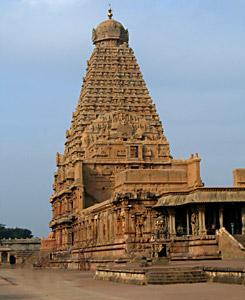 Brihadeswara Temple in Tanjore, Indian Sculpture
