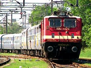 By rail Udvada, Gujarat