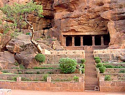 The Chalukyas of Badami Cave