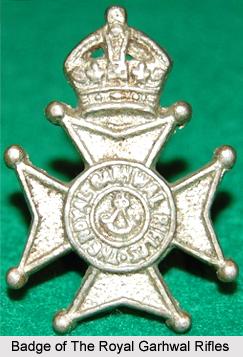 18th Royal Garhwal Rifles, Presidency Armies in British India