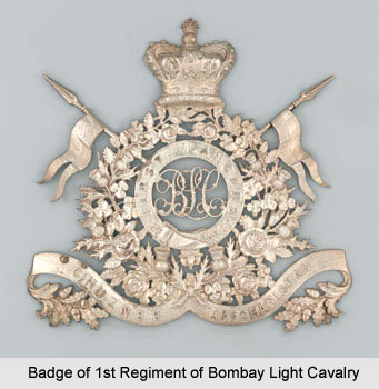 1st Regiment of Bombay Light Cavalry, Bombay Army