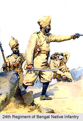 24th Regiment of Bengal Native Infantry, Bengal Army