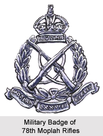 25th Regiment of Madras Native Infantry, Madras Army