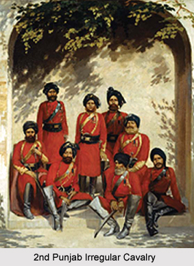 2nd Punjab Irregular Cavalry, Presidency Armies in British India