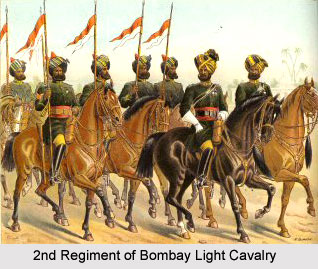 2nd Regiment of Bombay Light Cavalry, Bombay Army