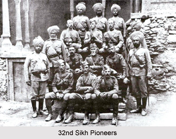 32nd Sikh Pioneers, Bengal Army