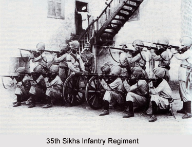 35th Sikhs, Bengal Army